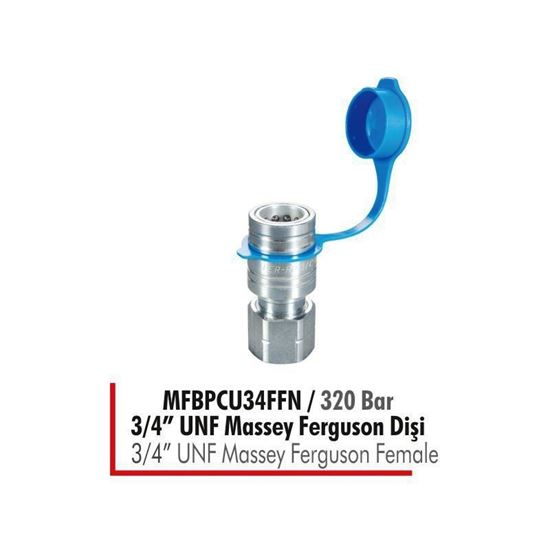 "MFBPCU34FFN / 320 Bar 3/4"" UNF Massey Ferguson Dişi resmi"