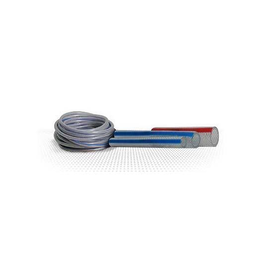 Süper PVC Şeffaf Örgülü Su Hortumu resmi