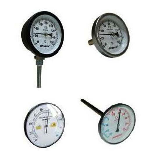 Termometre Ø65 - Ø100 - Ø160 resmi